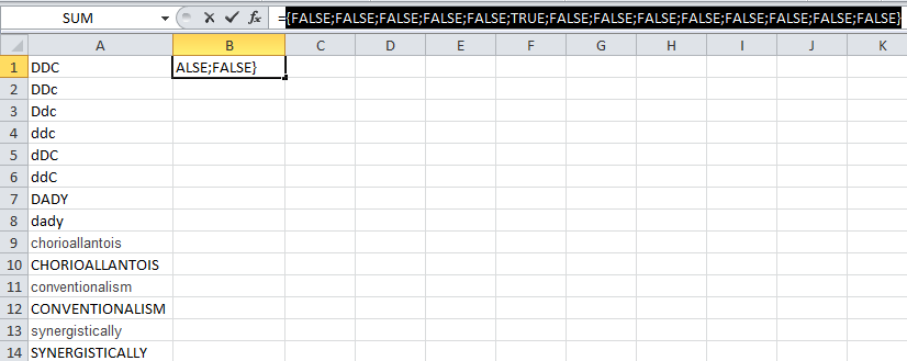 How to convert a word to a Unique Code in Excel using