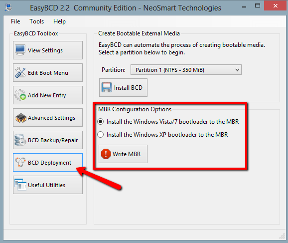 Grubrescue How To Fix The MBR For Windows 7 Ask Ubuntu