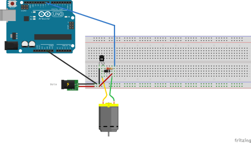 small resolution of controlling a dc motor speed with arduino electrical engineering motor contactor wiring diagram arduino dc motor wiring diagram