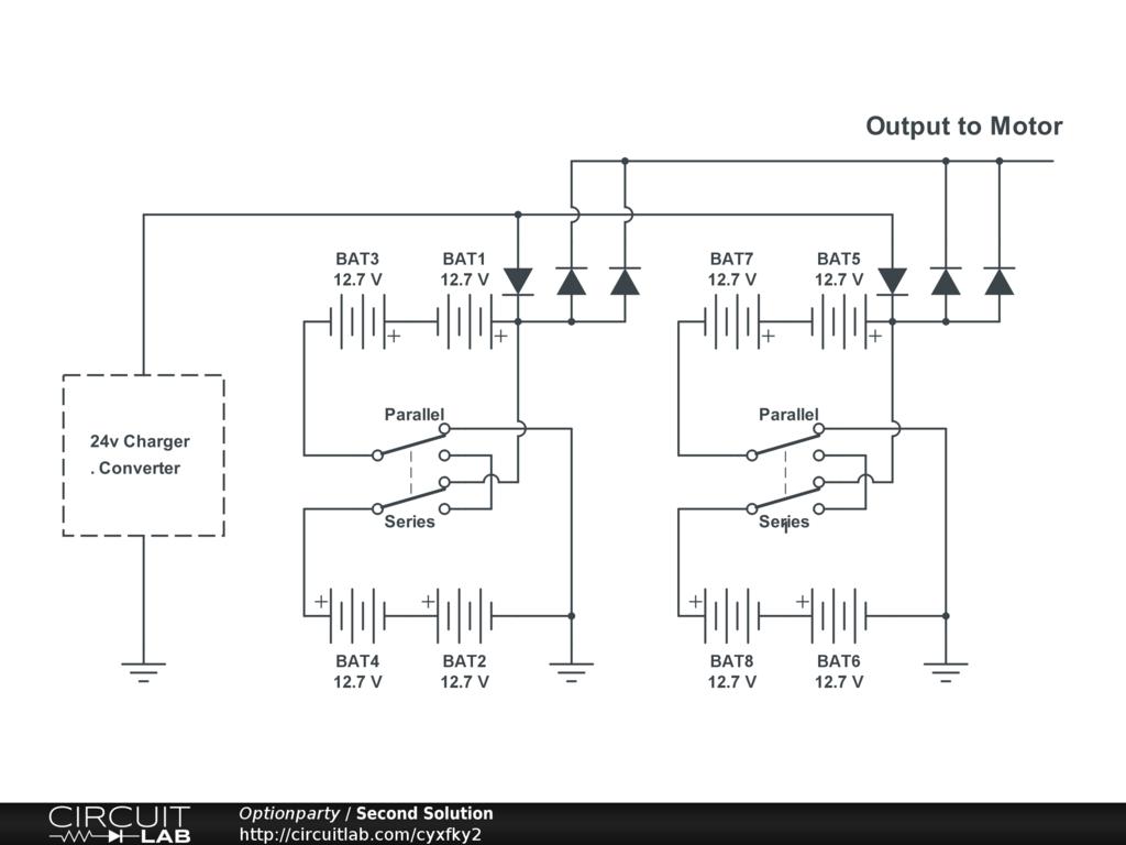 series wiring diagram kenmore 80 dryer belt batteries in 48v solar panels for