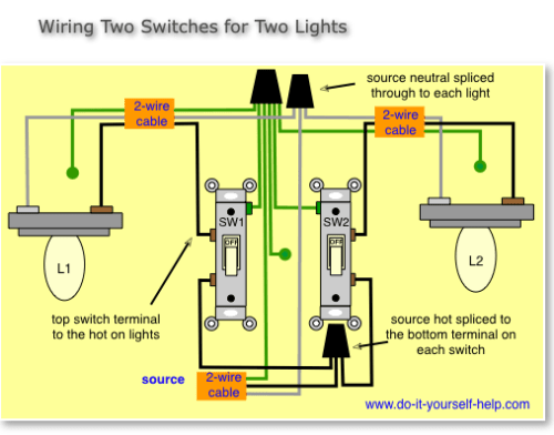 small resolution of electrical wiring a ge smart switch in a box with 2 light switches 2 light switches wiring