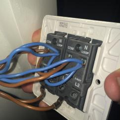 3 Way Switch Wiring Diagram Power To Light John Deere 140 H3 Electrical - How Do Wire This 2-gang Dimmer Switch? Home Improvement Stack Exchange