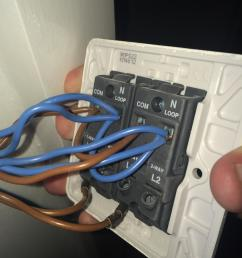 electrical how do wire this 2 gang dimmer switch home light switch wiring 2 gang [ 2448 x 3264 Pixel ]