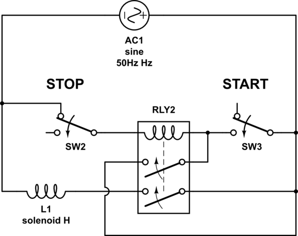 6 pin momentary switch wiring diagram 1998 subaru forester how to wire this latching relay - electrical engineering stack exchange