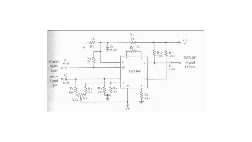 small resolution of dsb sc modulation circuit