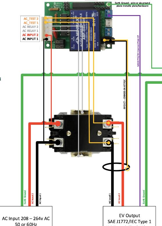 packard 2 pole contactor wiring diagram  schematic wiring