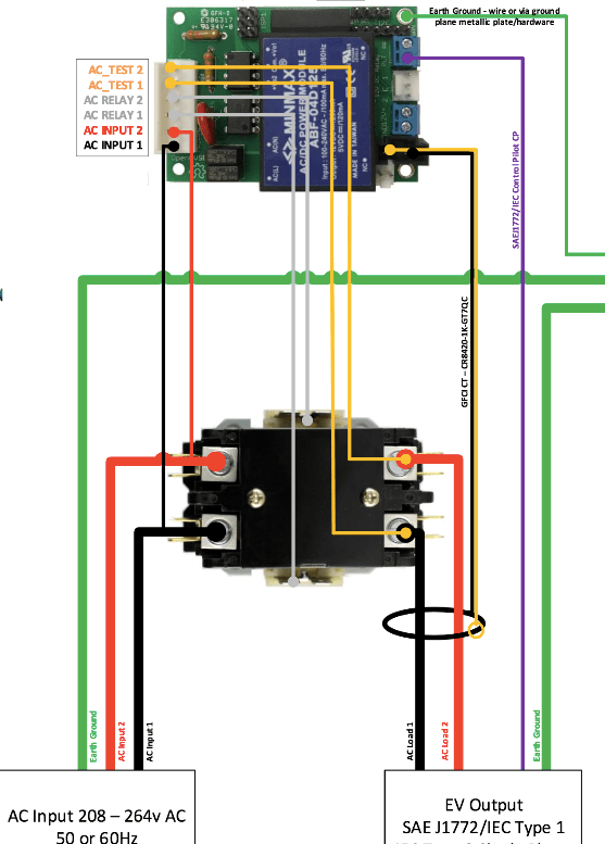 2 pole relay wiring diagram 2001 honda civic transmission power controlling two contactor using arduino stack duplicate