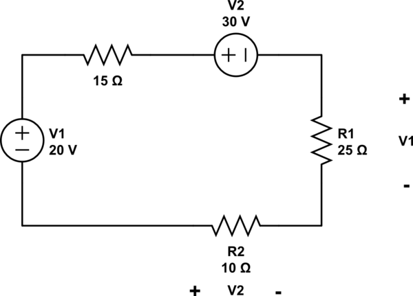 simple circuit problems