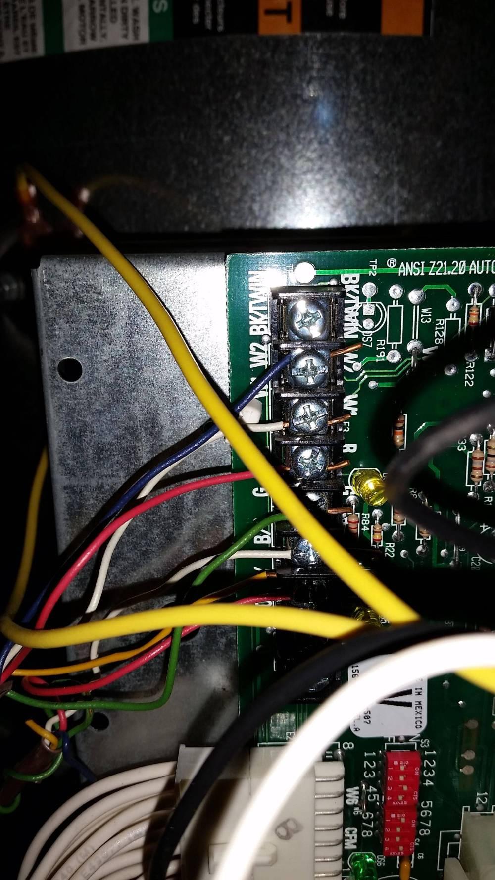 medium resolution of furnace wiring