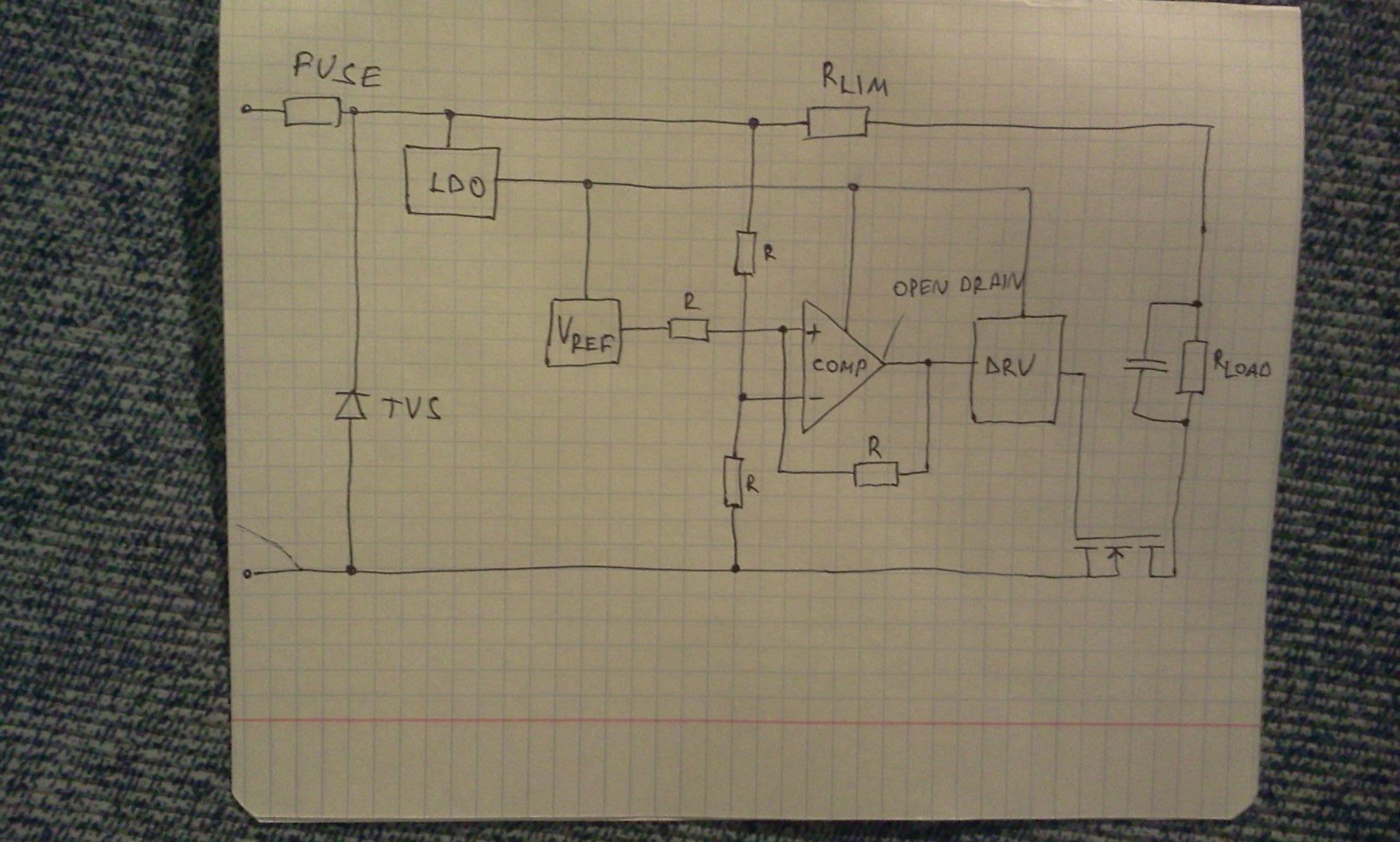 Description Of Overvoltage Protection Circuit