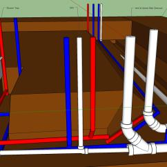 Wet Vent Diagram Farmall H Parts Plumbing How Many Vents Are Required For Drains Under A