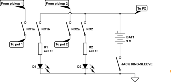 Single Pole Double Throw Momentary Switch Wiring Diagram