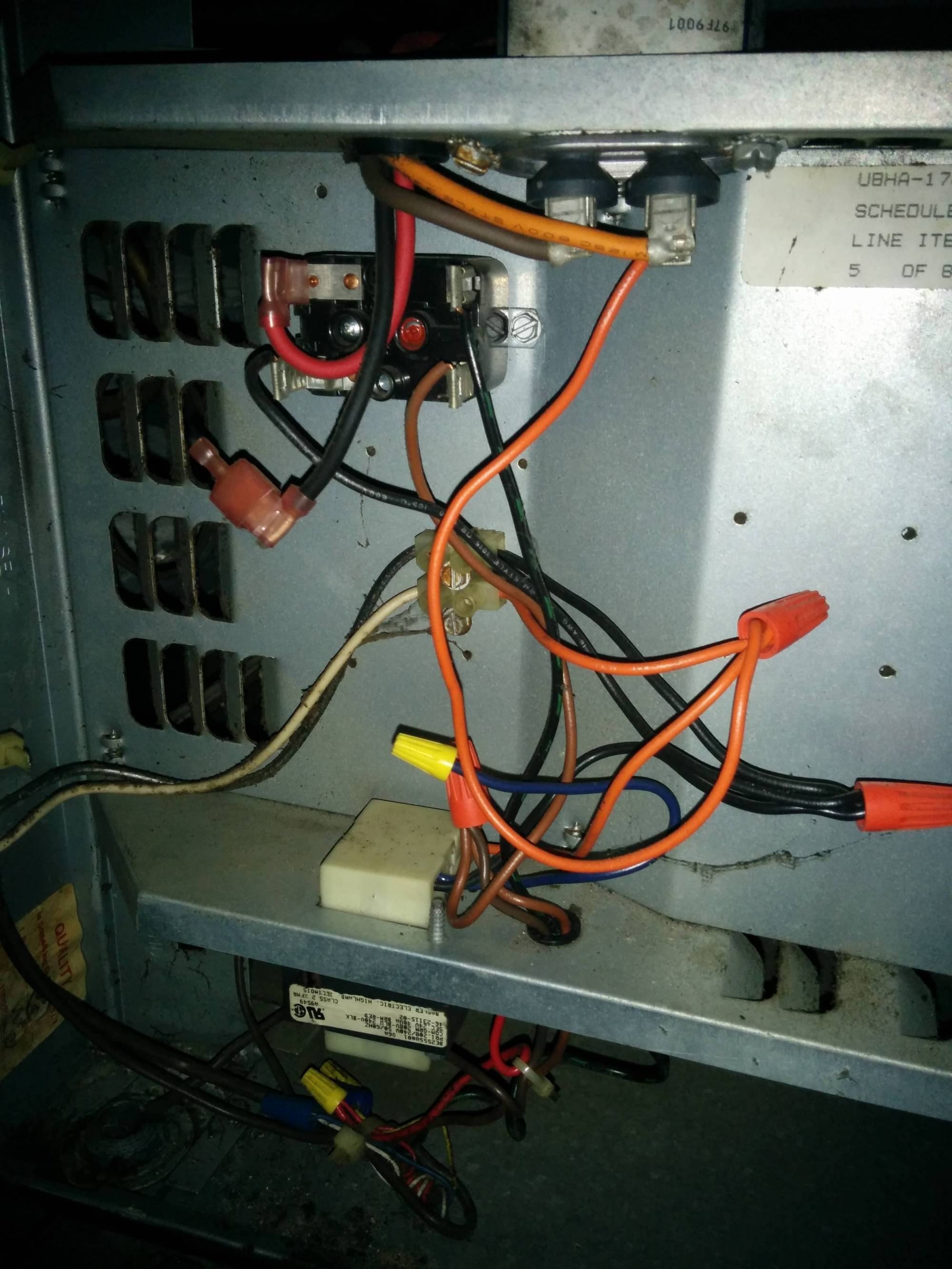 hight resolution of wiring mess in the air handler