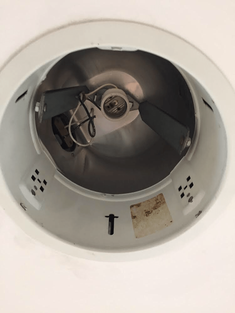 remove recessed lighting can home