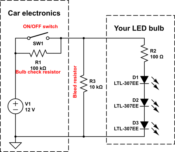How To Install Load Resistors For Led Trailer Lights