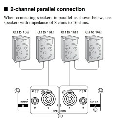 8 Ohm Wiring Diagram 6 Volt Rv Battery Amplifiers How Should I Wire Multiple Speakers For A Live Performance