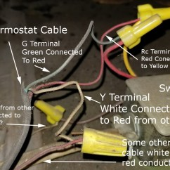 Old Rheem Air Handler Wiring Diagram 1990 Club Car Battery 36 Volt Where Do I Attach C Wire In This