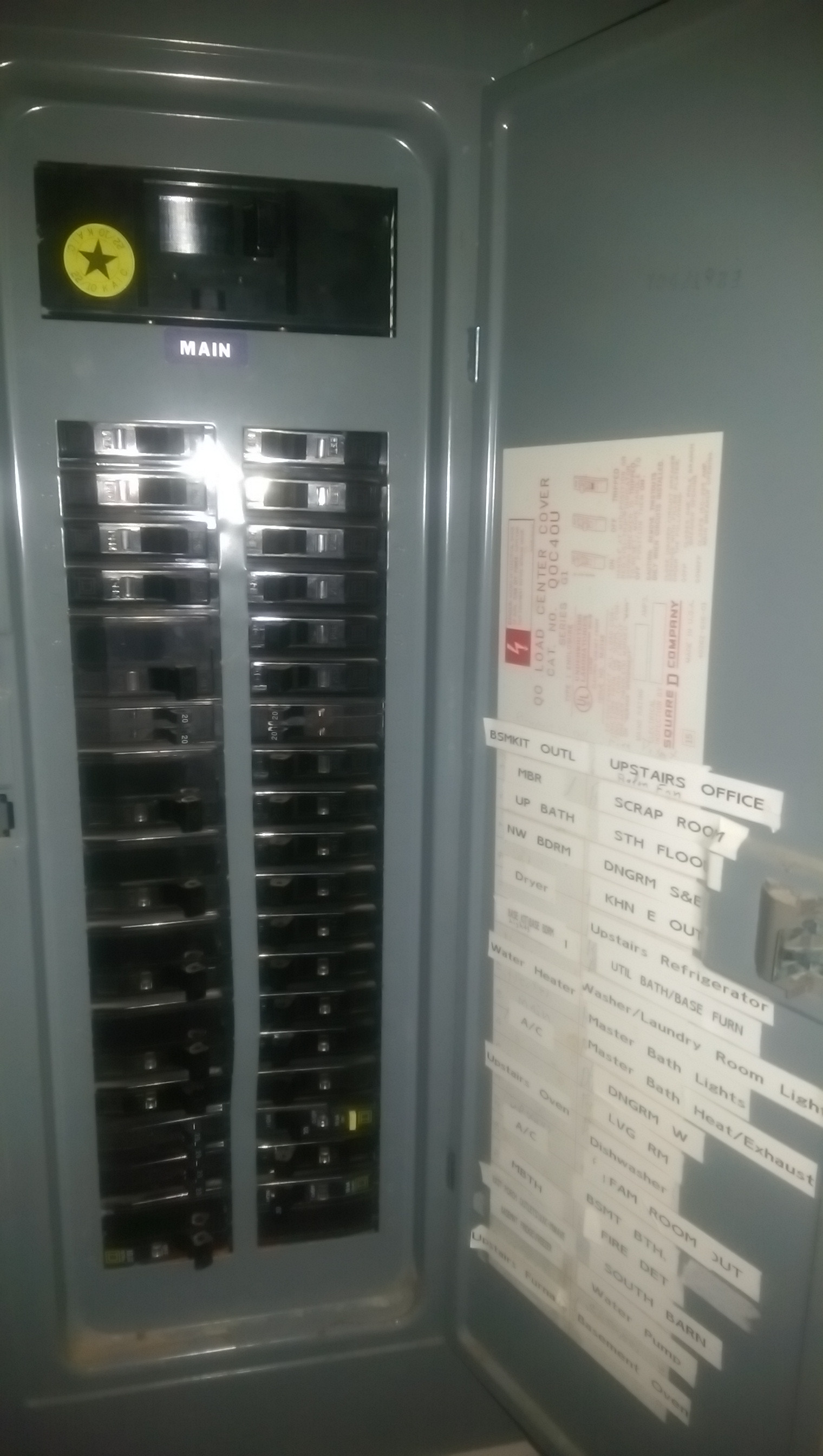 hight resolution of main panel