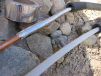 plumbing - How to reduce heating of cold water pipes in ...