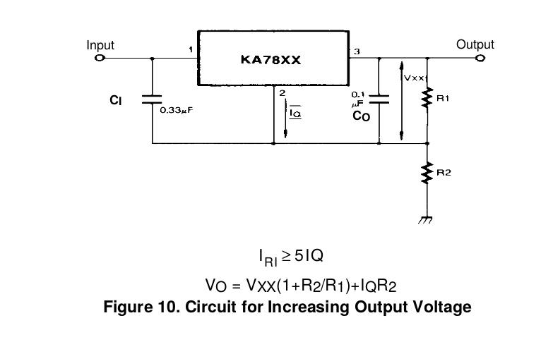 7805 Voltage Regulator powering astable 555 Timer yields