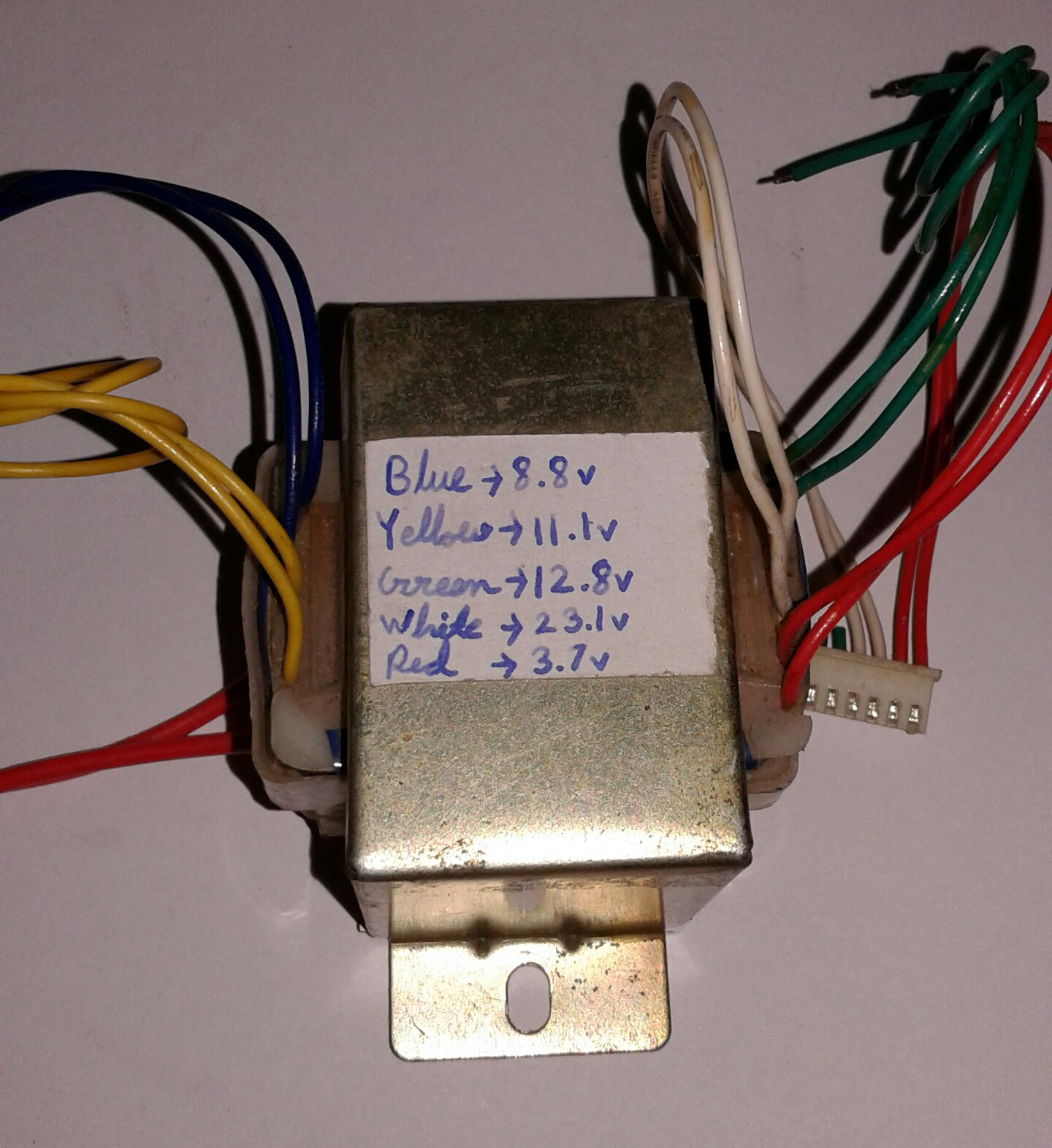 hight resolution of how to test the maximum secondary current of a step down transformer