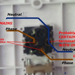 Nz Power Plug Wiring Diagram 1997 Honda Civic - Wall Mounted Heated Towel Rail Not Marked Home Improvement Stack Exchange