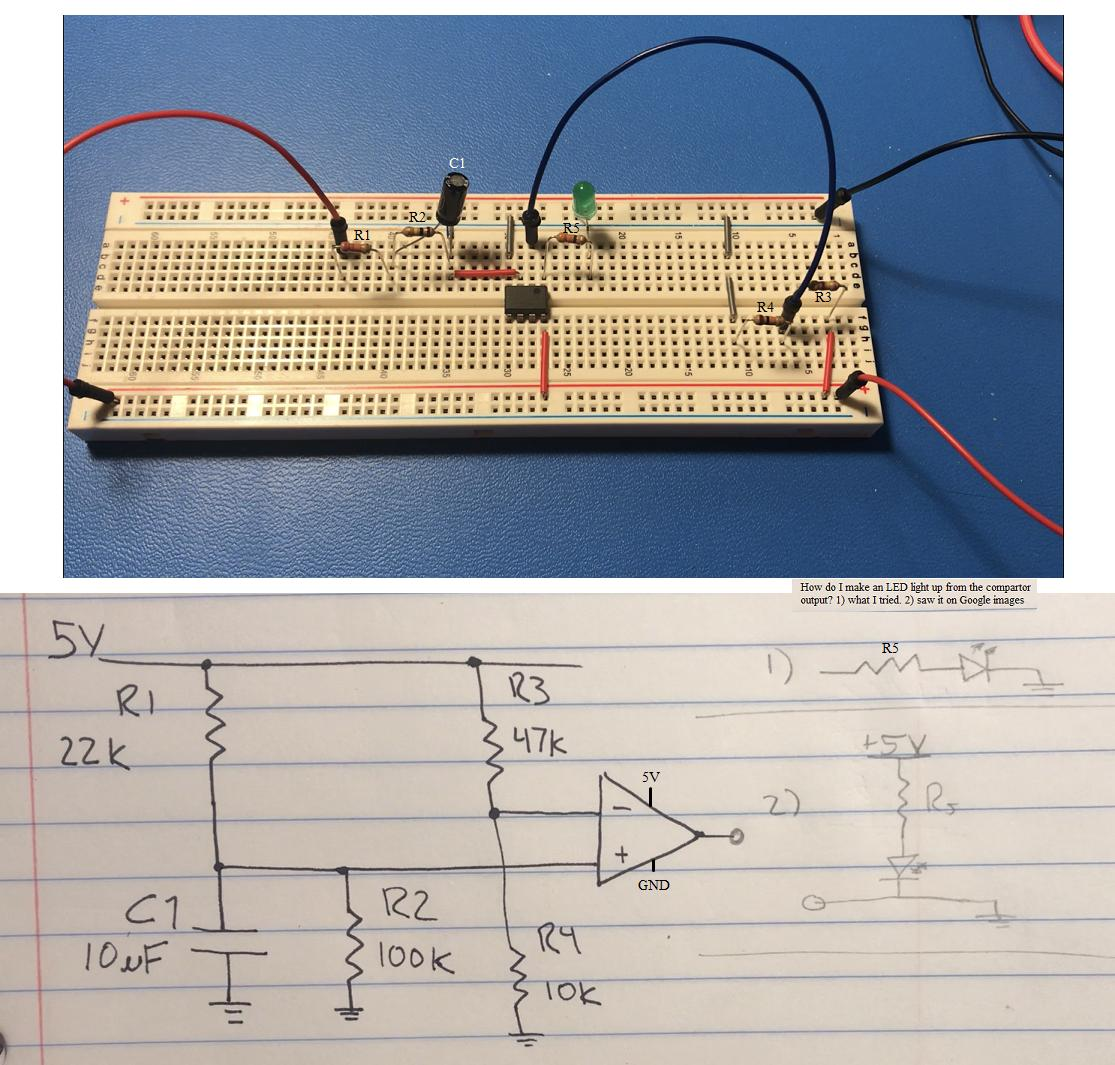 The Circuit Can Be Improved By Using Azenerin Place Of The Led Or