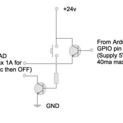 Transistor Wiring Diagram Light Diagrams Arduino Can I Use A Single Spst Switch And Transistors To Simulate Circuit