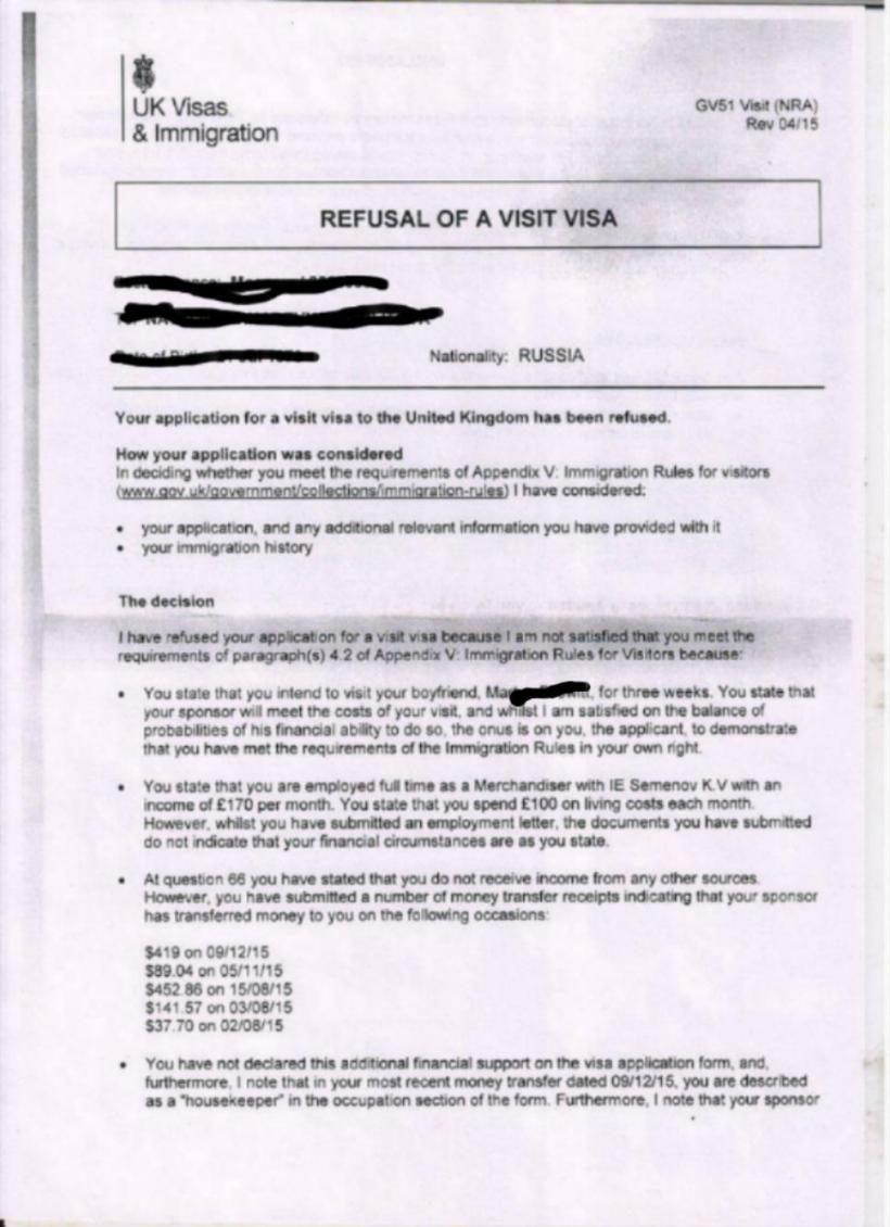 Refusal Letter 1