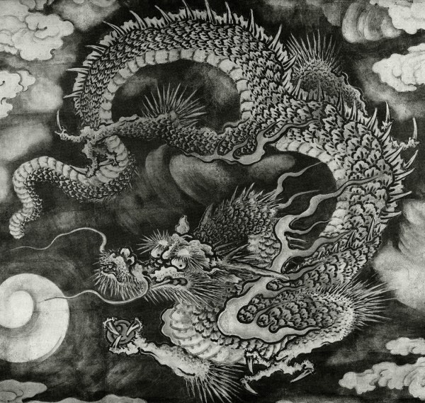 Chinese - Asian Dragons Fur Hair