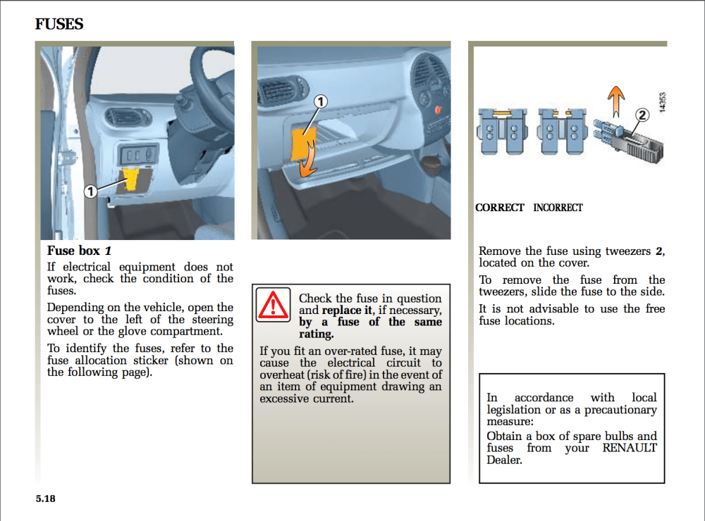 medium resolution of renault fuse box schema wiring diagram renault laguna fuse box diagram fuse box location for 2006