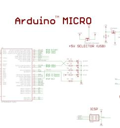 arduino micro schematic [ 3257 x 1709 Pixel ]