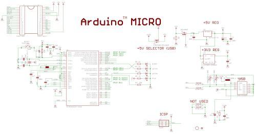 small resolution of arduino micro schematic