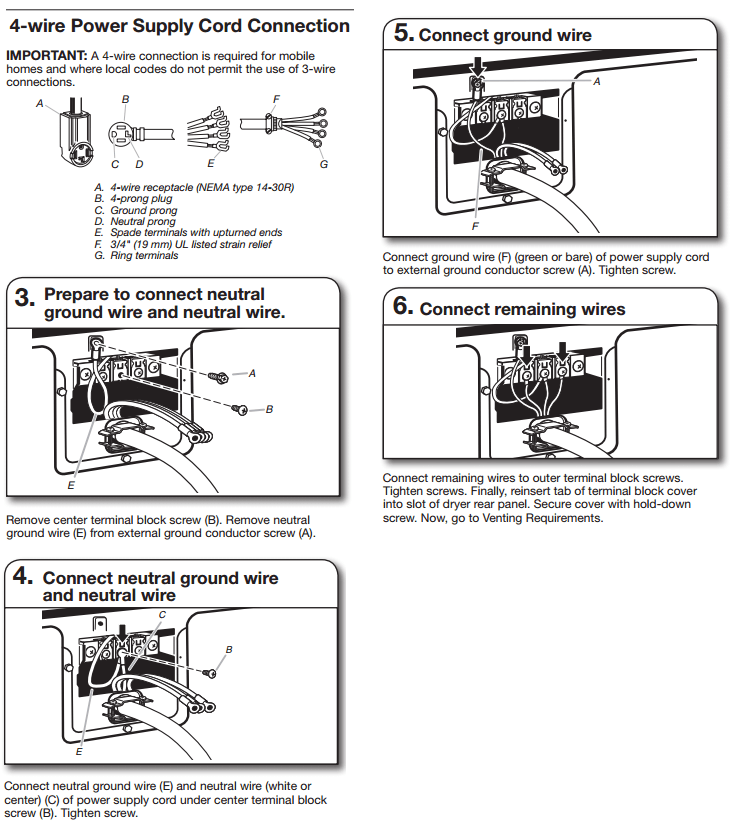 Wiring Diagram For 4 Prong Stove Outlet