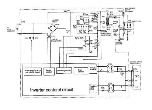 small resolution of panasonic inverter schematic