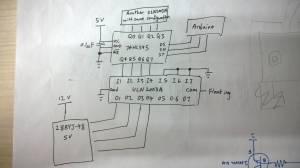 arduino  74HC595  ULN2003A not driving stepper motor