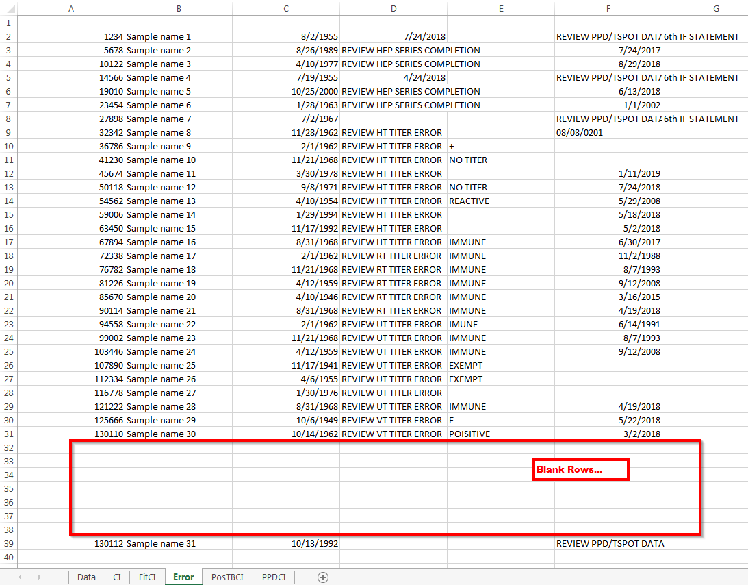 Excel Vba Variable Is Not Incrementing Correctly