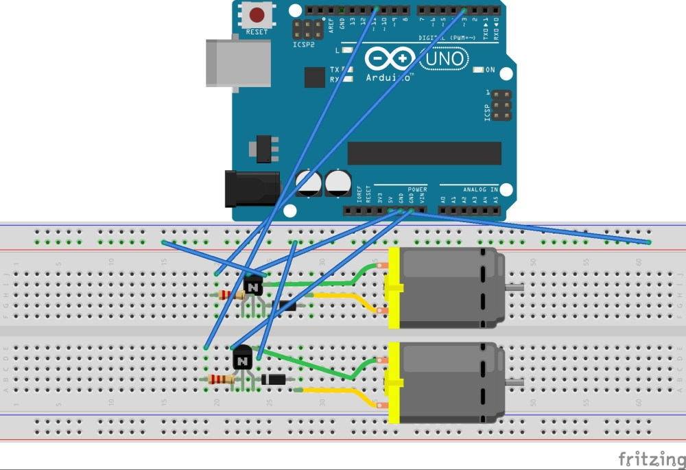 medium resolution of  enter image description here arduino uno transistor h bridge