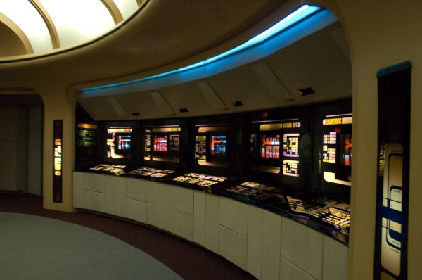 star trek What are the various computer consoles on the