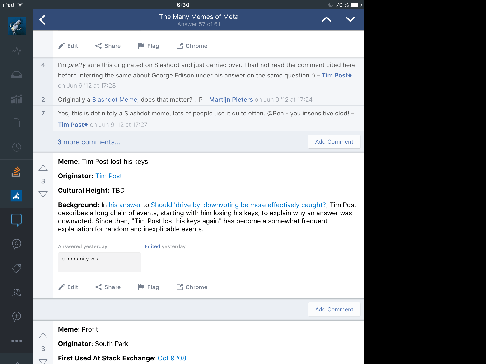 Screen Resizing Stuck For Question With A Lot Of Answers