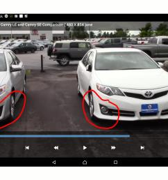 does toyota camry le support mounting of fog lights  [ 2560 x 1600 Pixel ]