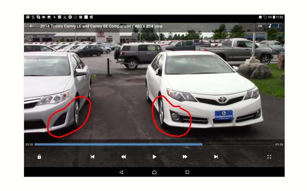 medium resolution of does toyota camry le support mounting of fog lights