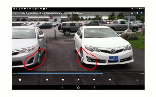 small resolution of does toyota camry le support mounting of fog lights