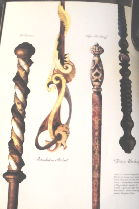 Harry Potter Any Official Comments On Wands Reflecting