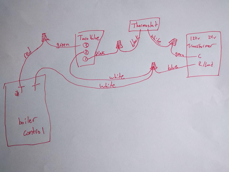 Boiler Zone Valve Wiring Diagram 17 Taco 571 Zone Valve Wiring