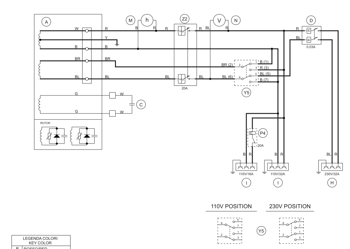 0v between hot and neutral primus iq brake controller wiring diagram generator 50 volts on the 180 live