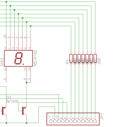 i created two circuit designs one using pnp transistors for multiplexing as seen in most tutorials pnp [ 2214 x 942 Pixel ]