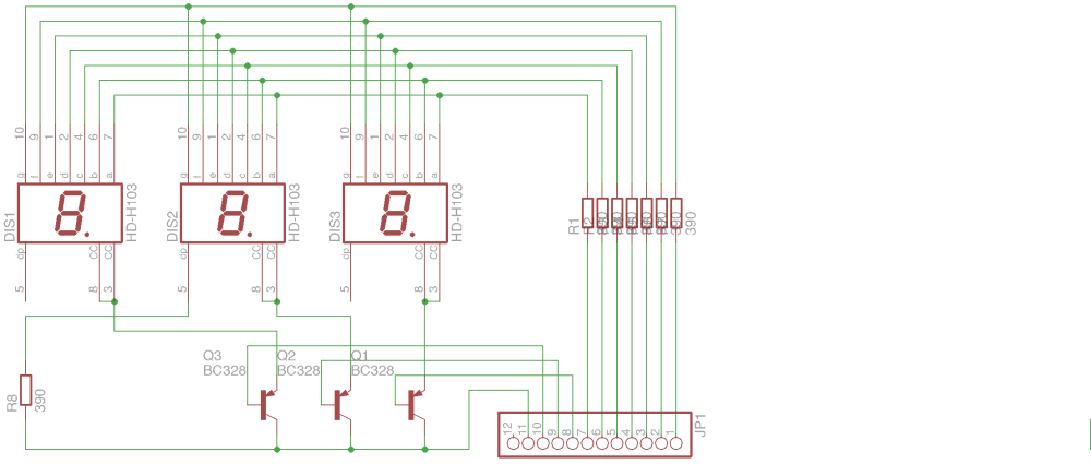 medium resolution of i created two circuit designs one using pnp transistors for multiplexing as seen in most tutorials pnp