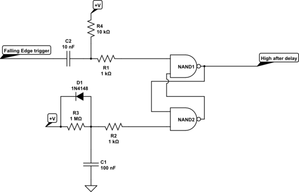 Can you set up a monostable 555 timer so it reverses the