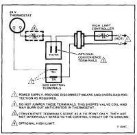 hvac - Honeywell VR8300A3500 Single Stage Heat Gas Valve ...